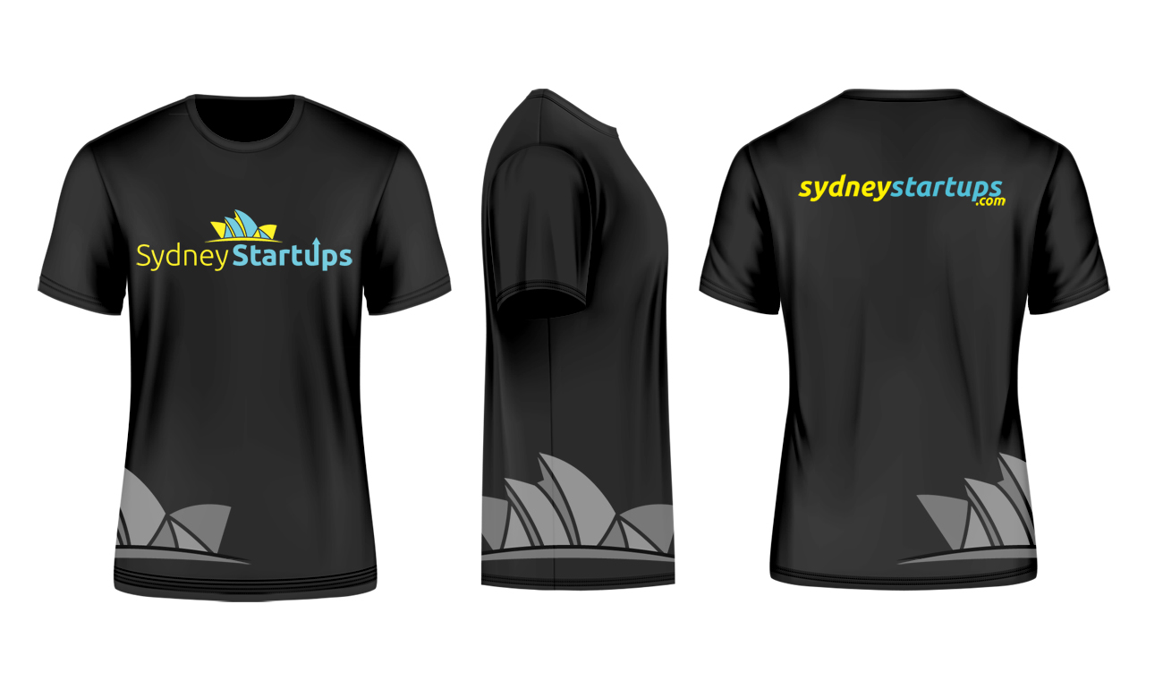 Bold Playful Startup T Shirt Design For A Company By