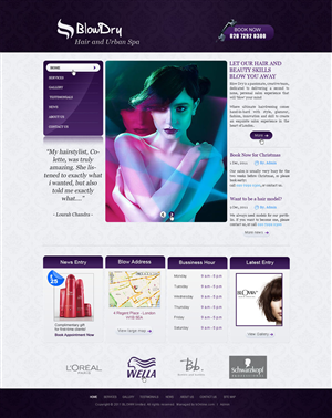 Salon Website 540461