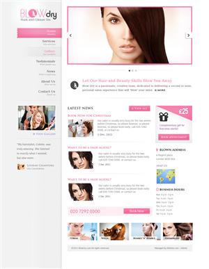 106 Elegant Playful Beauty Salon Web Designs for a Beauty Salon ...