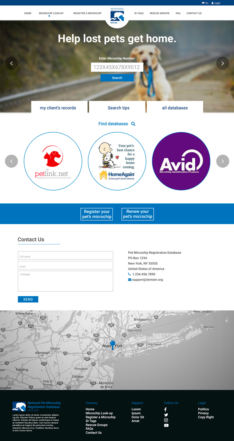 Web Design for a Company by lionx | Design #13427871