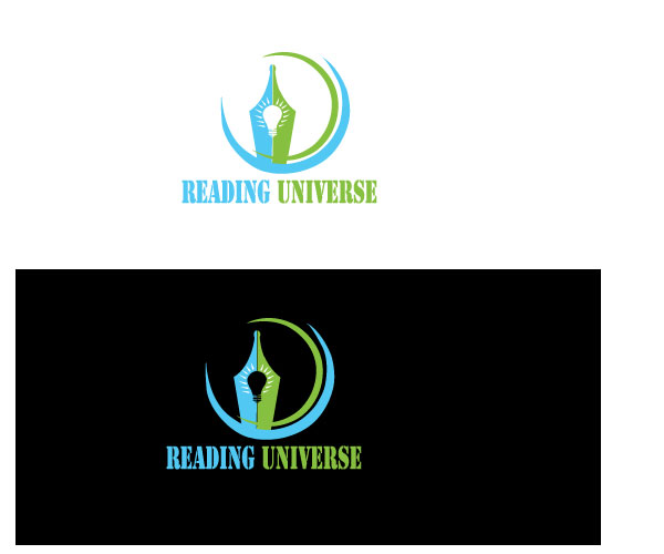 Bold, Modern, Education Logo Design for Reading Universe by