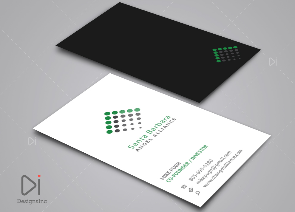 Bold Serious Investment Business Card Design For A Company By