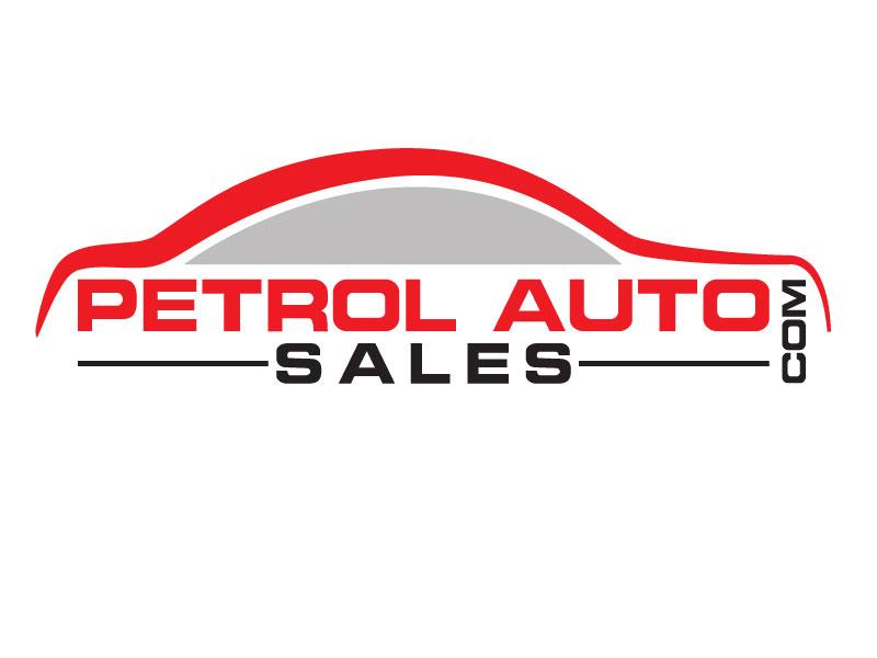 Masculine Colorful Automotive Logo Design For Petrol Auto Sales