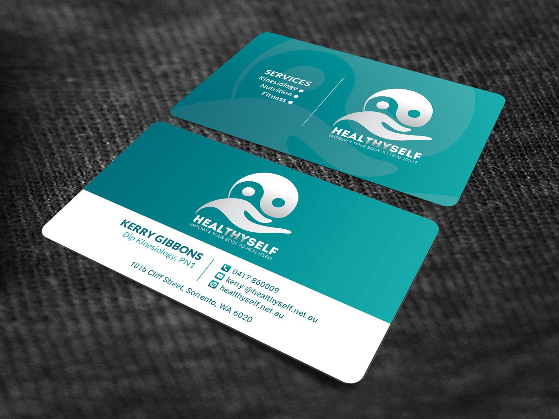 Elegant, Serious, Alternative Medicine Business Card Design for Mark ...
