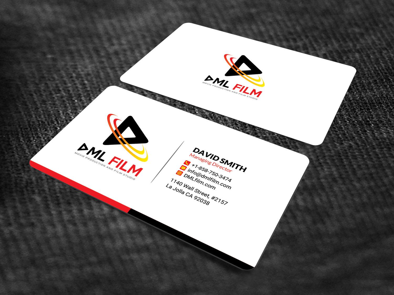 Elegant, Playful, Entertainment Industry Business Card Design for D ...