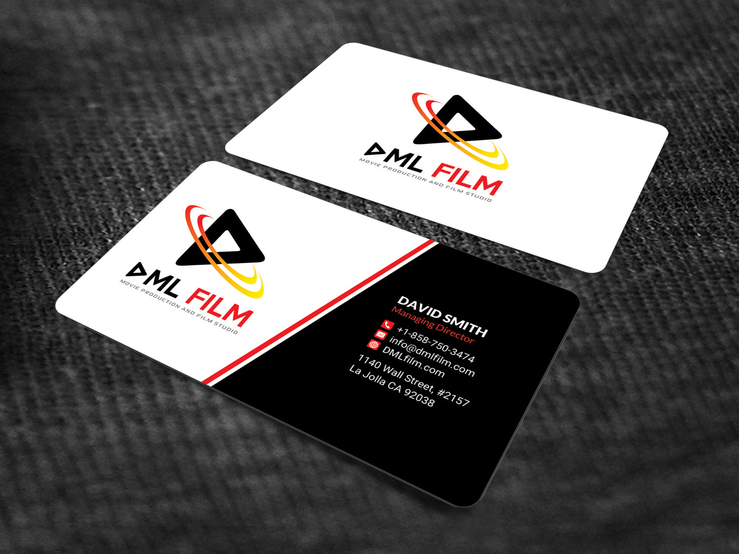 Perfect entertainment business card gift business card ideas elegant playful entertainment industry business card design for d reheart Choice Image