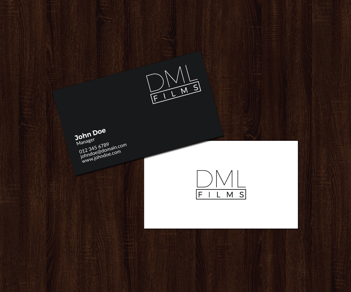 Elegant playful entertainment industry business card design for d business card design by jk18 for dsouza entertainment design 13480185 colourmoves