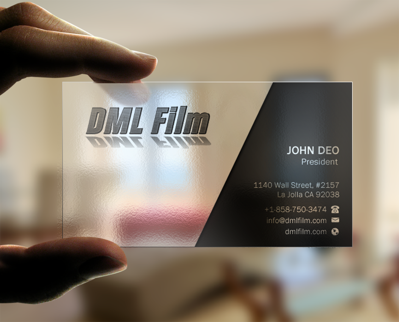 Elegant playful entertainment industry business card design for d business card design by brand aid for dsouza entertainment design 13498973 reheart Images