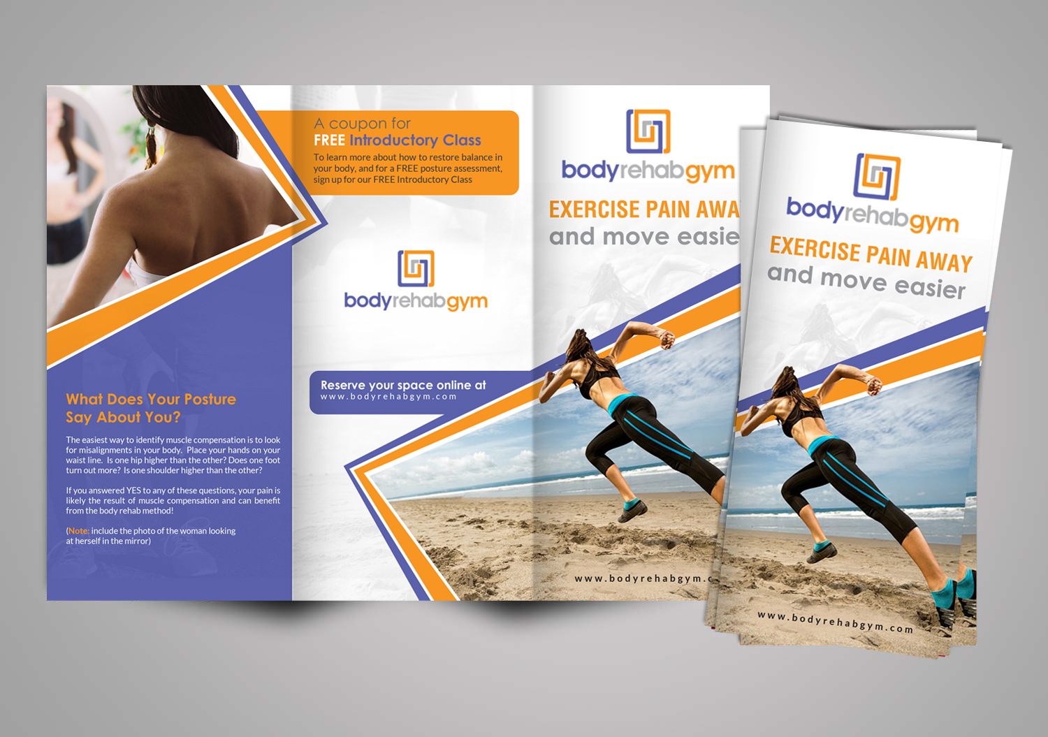 Modern, Professional, Health And Wellness Brochure Design for a