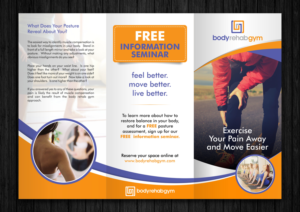 gym brochure design samples 1000 s of gym brochure design samples