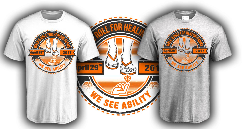 T shirt design job - T Shirt Design By Fatpixel For T Shirt Design Job For Non Profit