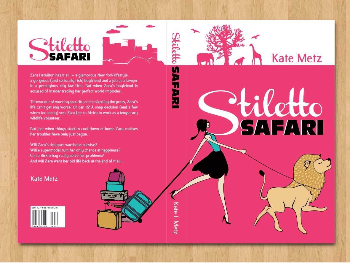 Zara poster design - Book Cover Design By Margaretmay For Book Cover Design Project Stiletto Safari Design