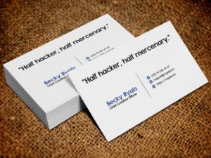 12 Modern Business Card Designs Information Technology Business