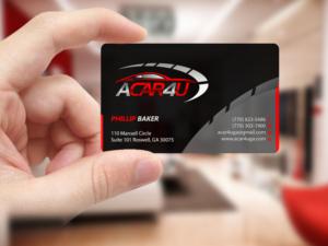 179 Modern Business Card Designs Automotive Business Card Design