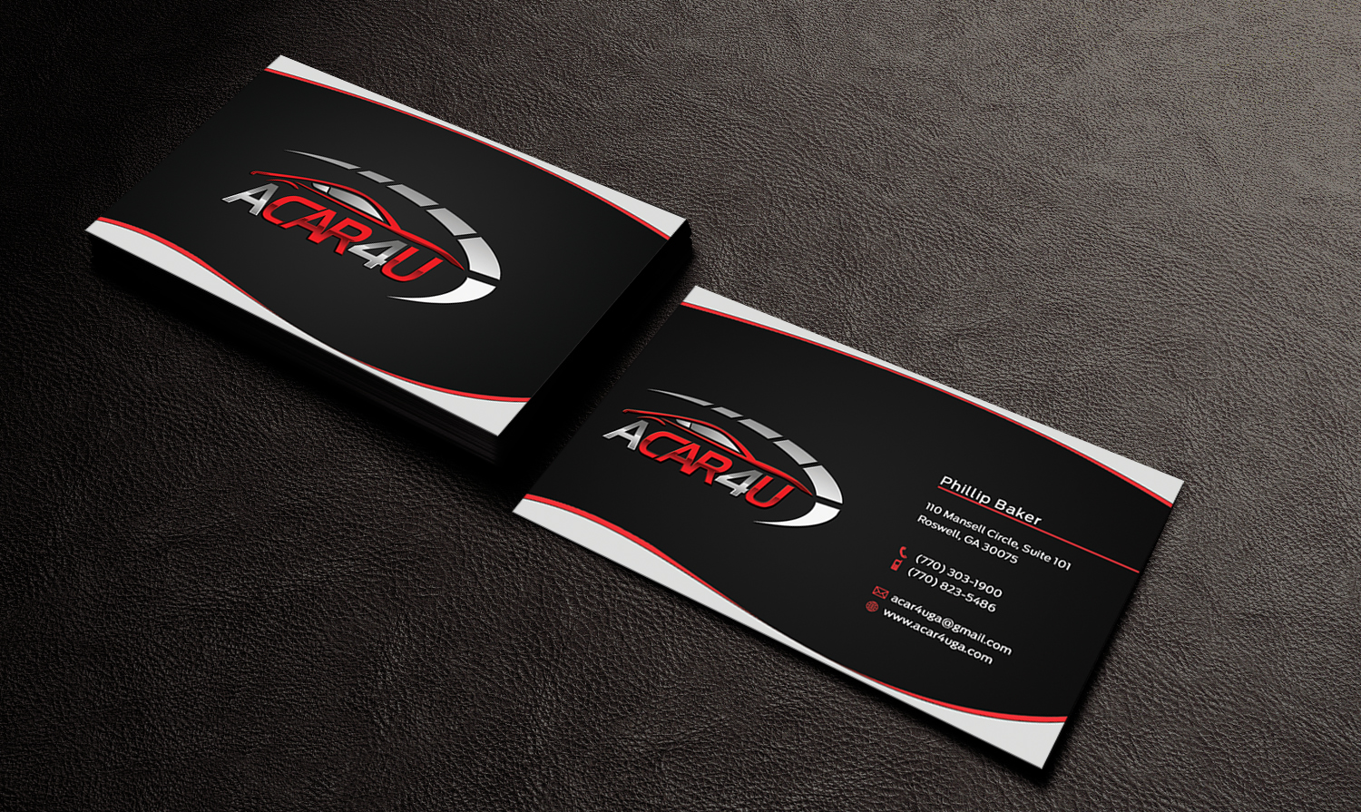 Modern upmarket business card design for phillip baker by business card design by edirisingha for used car dealer seeks an amazing business card design magicingreecefo Image collections