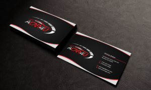 Automotive business card design galleries for inspiration used car dealer seeks an amazing business card design business card design by edirisingha reheart Image collections