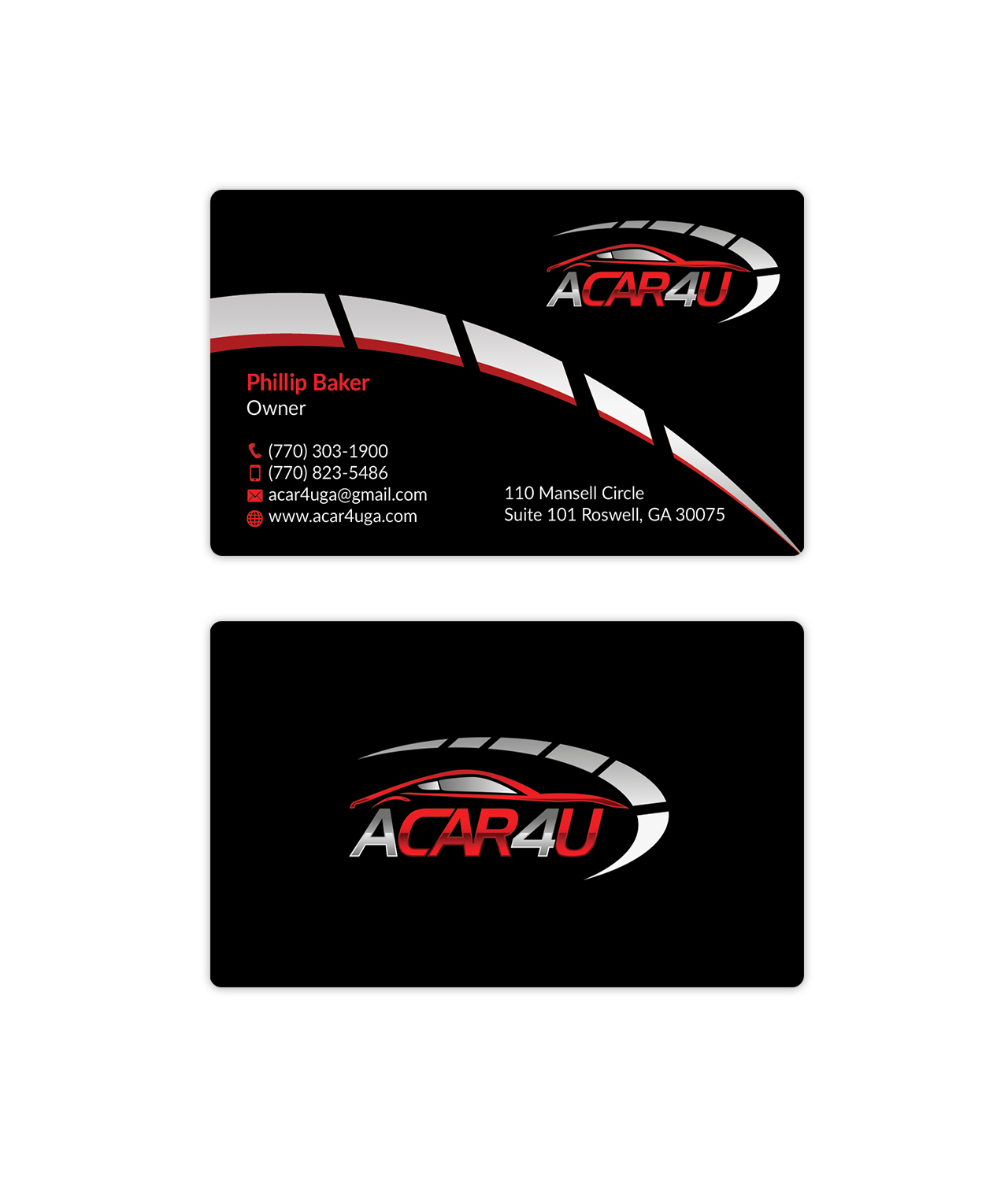 Business Card Design By Hmk For Used Car Dealer Seeks An Amazing