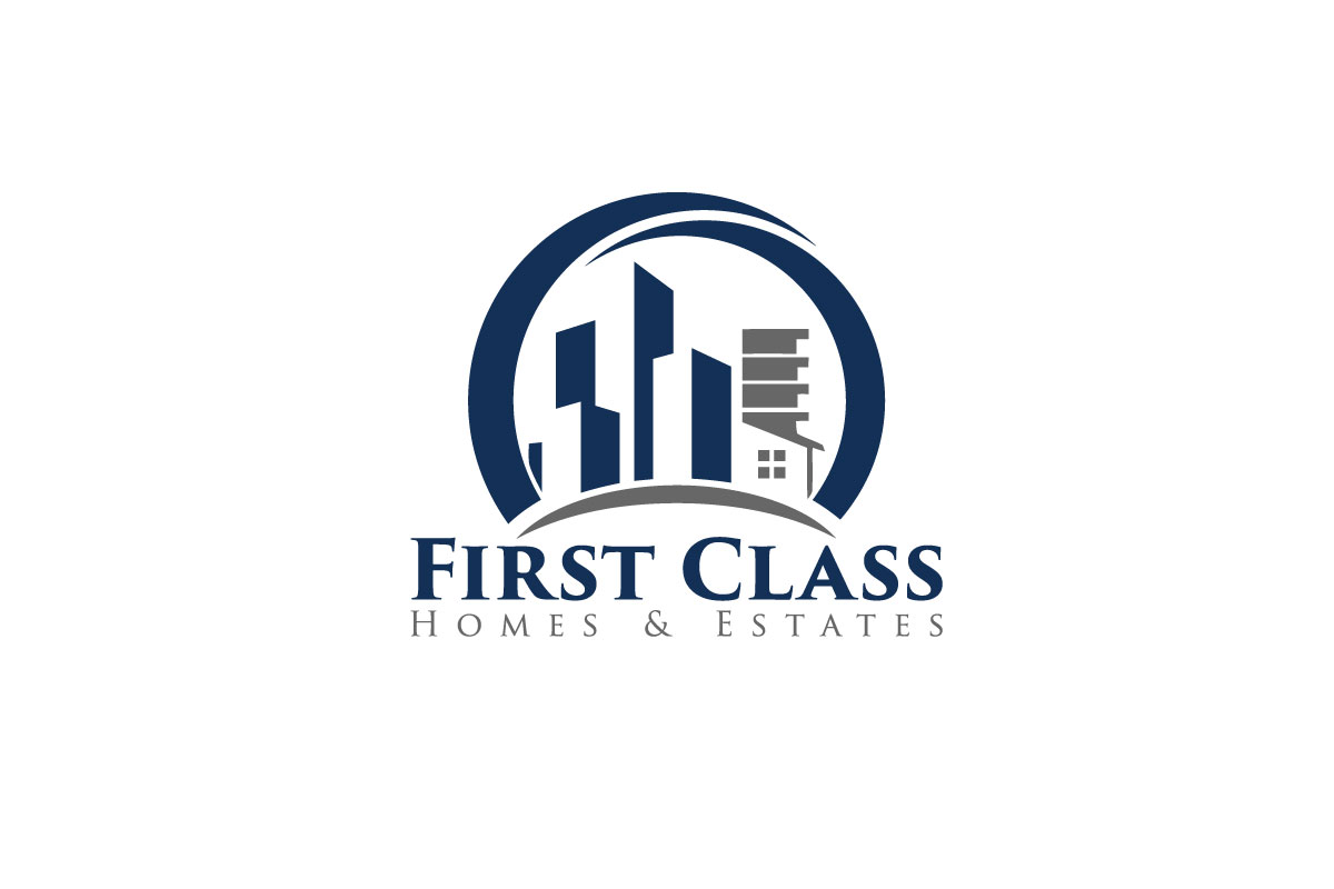 Modern Conservative Real Estate Logo Design For First Class Homes Estates By Ab Roman Design 13531317