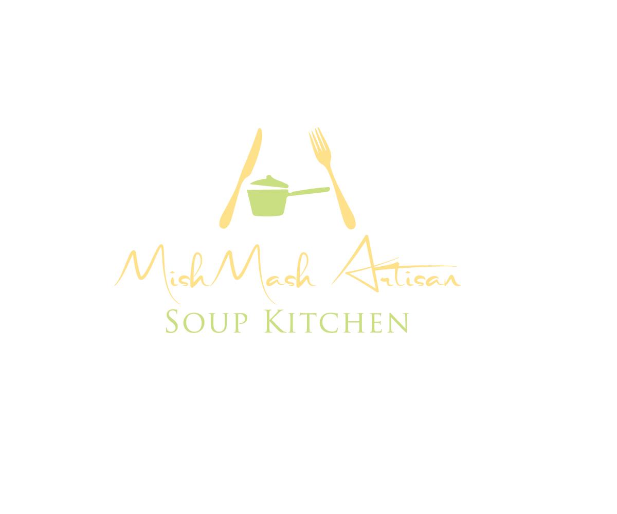 Playful, Modern, Restaurant Logo Design for MishMash Artisan Soup ...