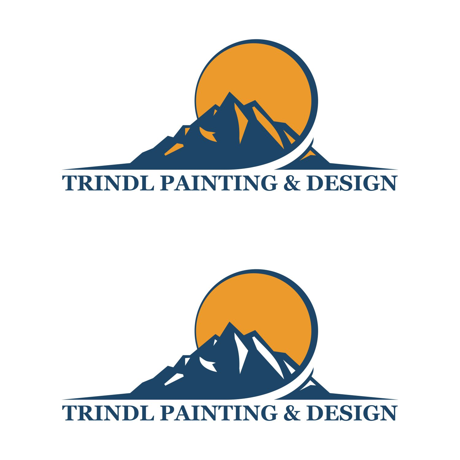 Business Logo Design For Trindl Painting And In United States