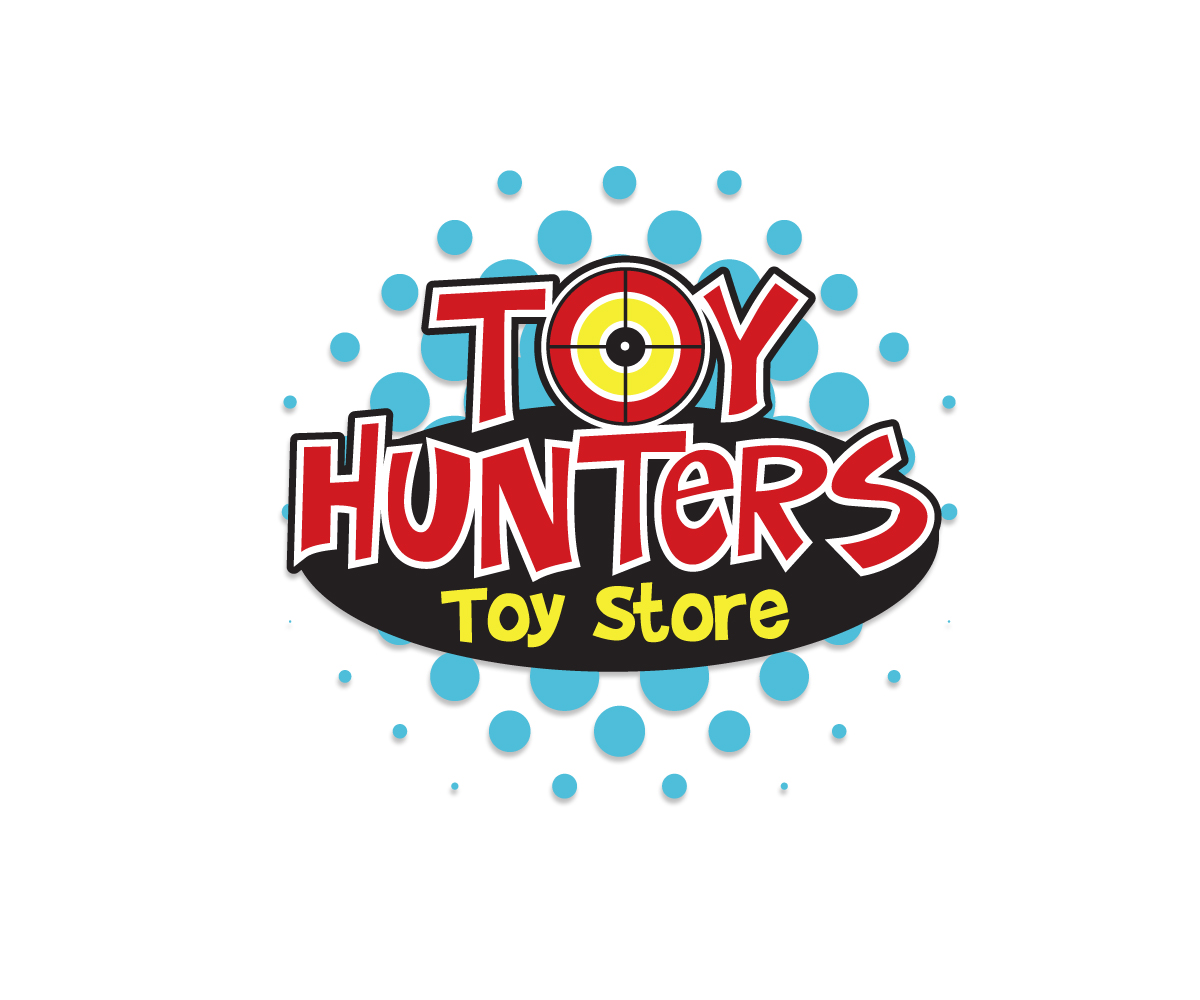 Toy Store Logo : Modern playful toy store logo designs for hunters