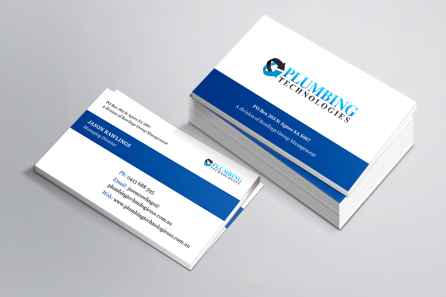 Business Card Design By HereNay J For This Project