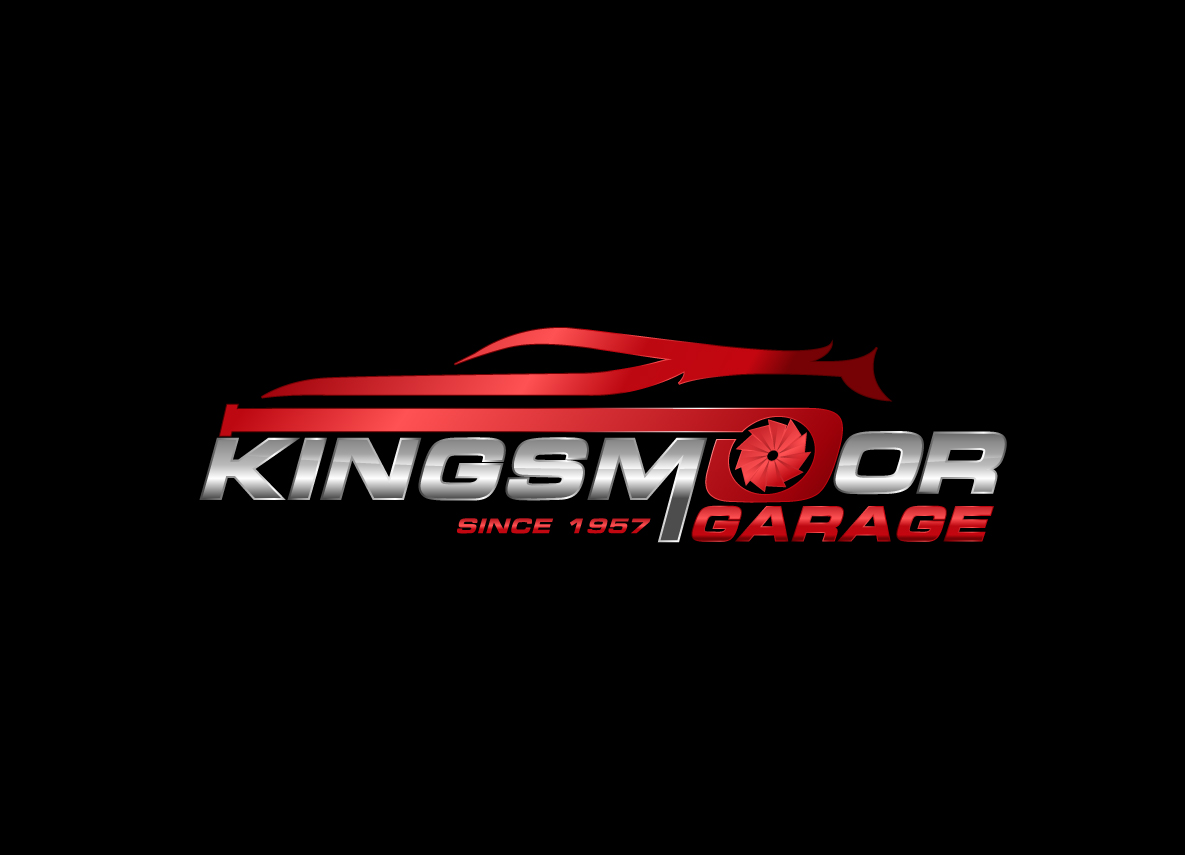 Bold Masculine Automotive Logo Design For Kingsmoor Garage By Creative Bugs Design 13590630