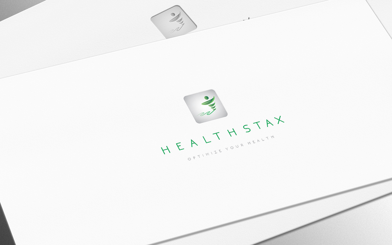 Modern, Bold, Health Service Logo Design for Health Stax