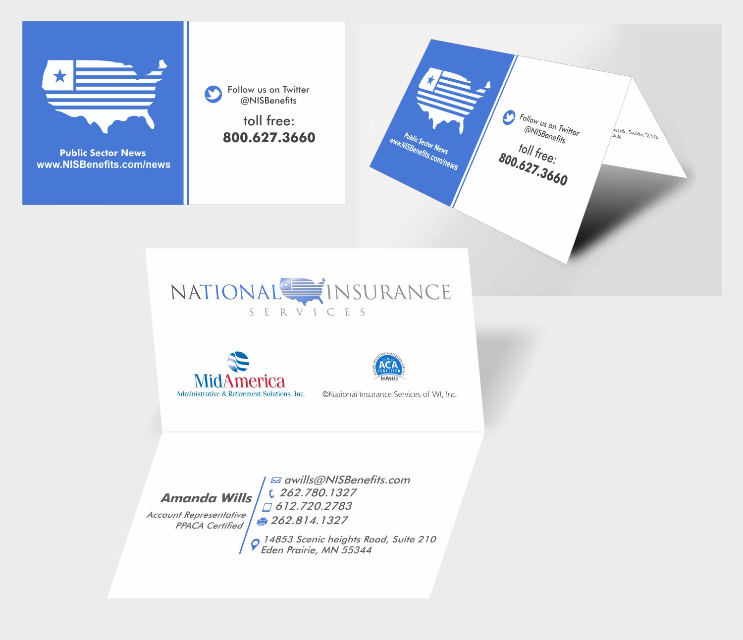 Serious professional insurance business card design for national business card design by inesero for national insurance services design 13634229 colourmoves