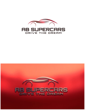 Bold Modern Rental Car Logo Designs For Ab Supercars Drive The