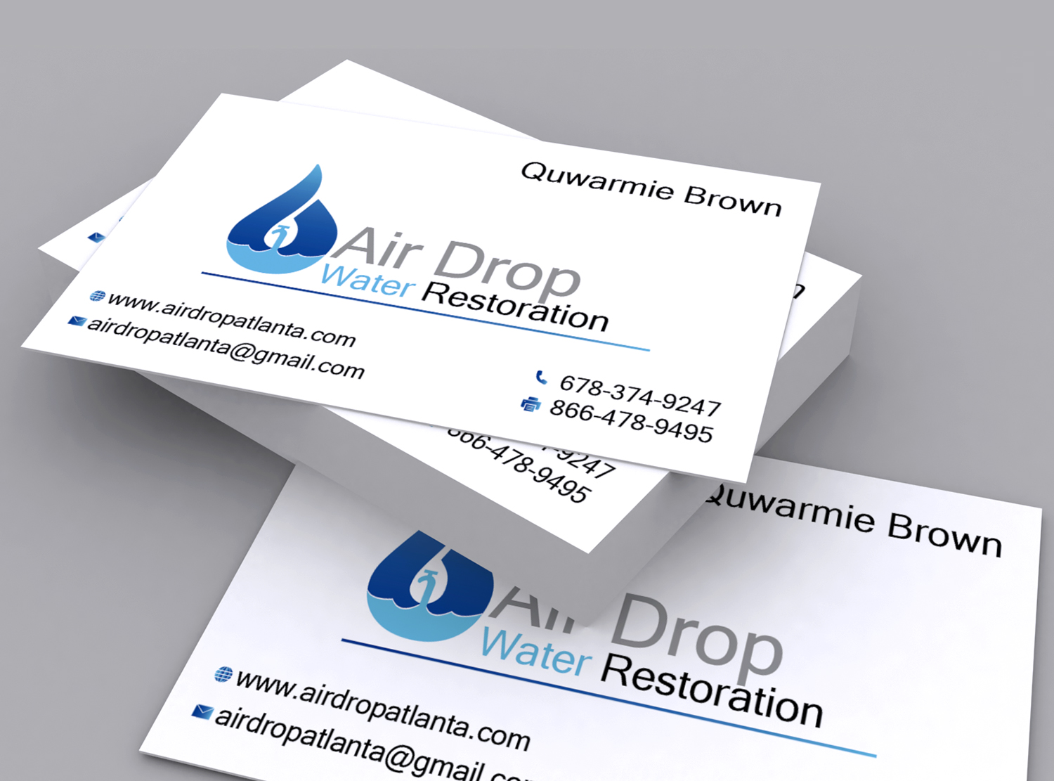 Modern bold logo design for airdrop water restoration by heshan logo design by heshan seek for air drop is a water mitigation compnay that magicingreecefo Image collections