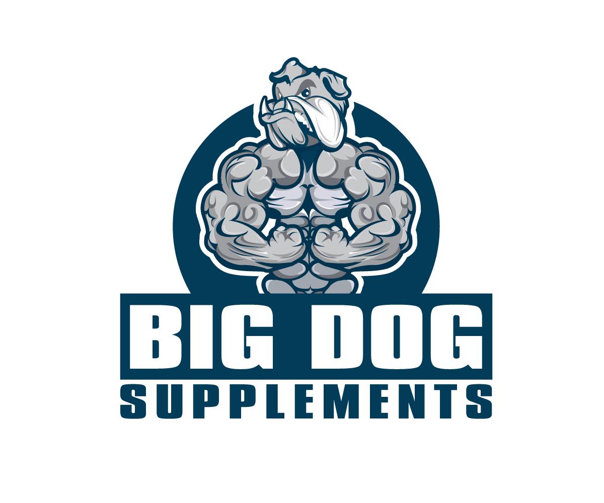 Logo Design By Logooffers For Big Dog Supplements Bodybuilding Supplement Website