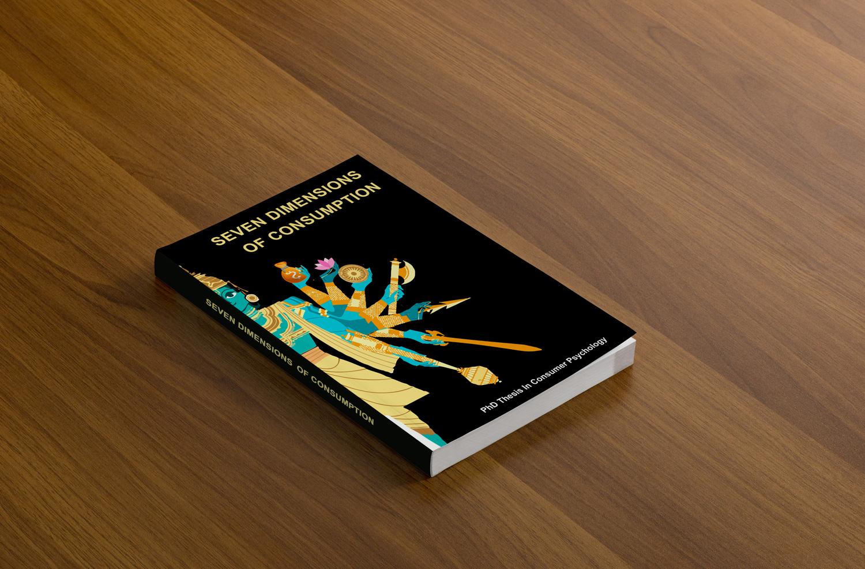 University Book Cover Design : Professional elegant university book cover design for a