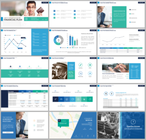 Modern, Professional, Finance PowerPoint Design for a Company by