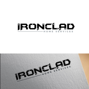 Bold, Serious, Home Inspection Logo Design for Ironclad Home