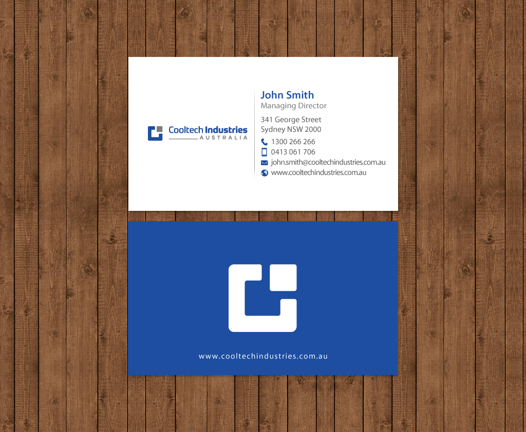 Serious, Masculine Business Card Design for Matthew Ray by ...