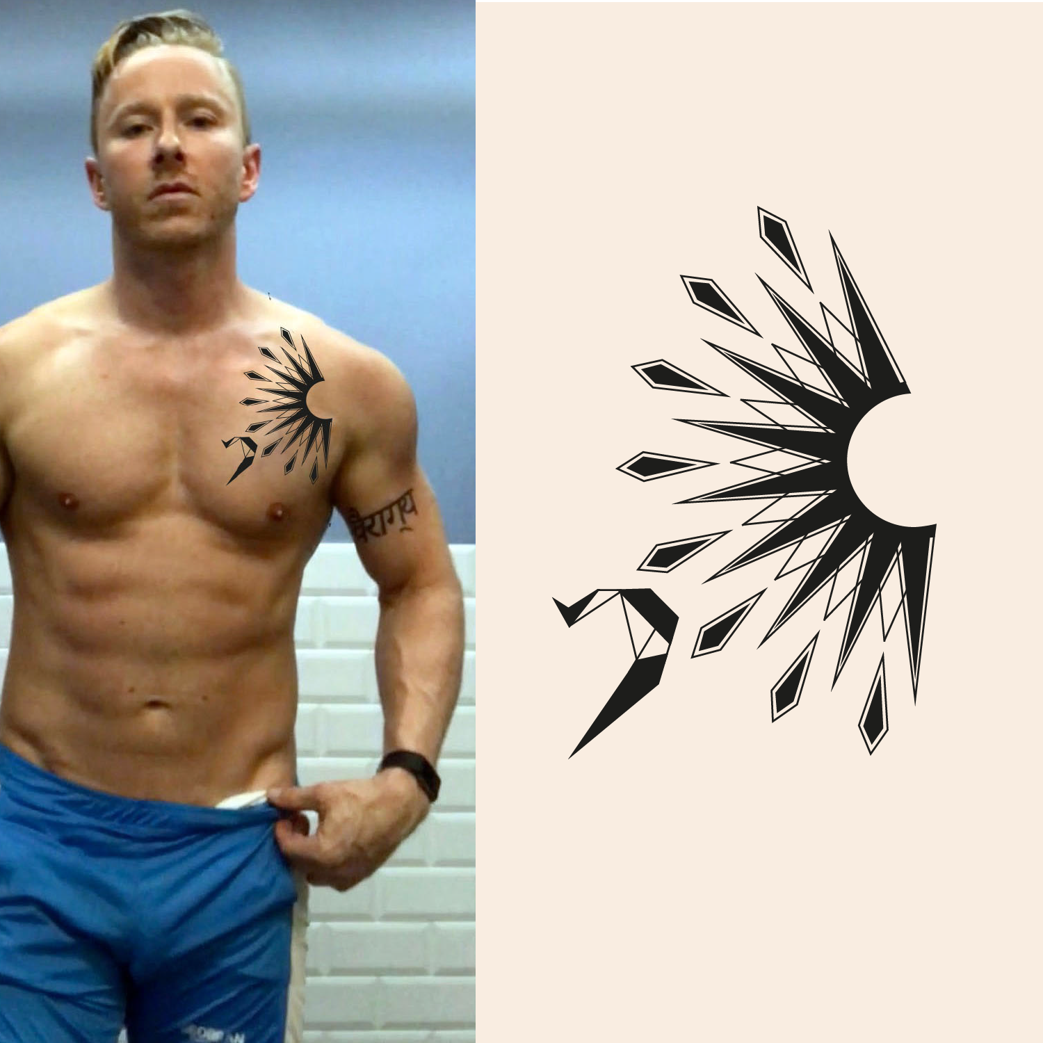 Modern, Masculine, Tattoo Tattoo Design For A Company By
