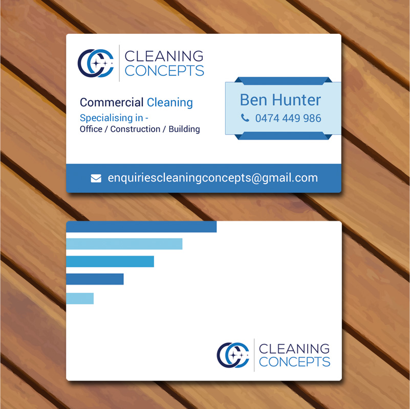 Modern professional office cleaning business card design for business card design by supriyodas for cleaning concepts pty ltd design 13645950 colourmoves