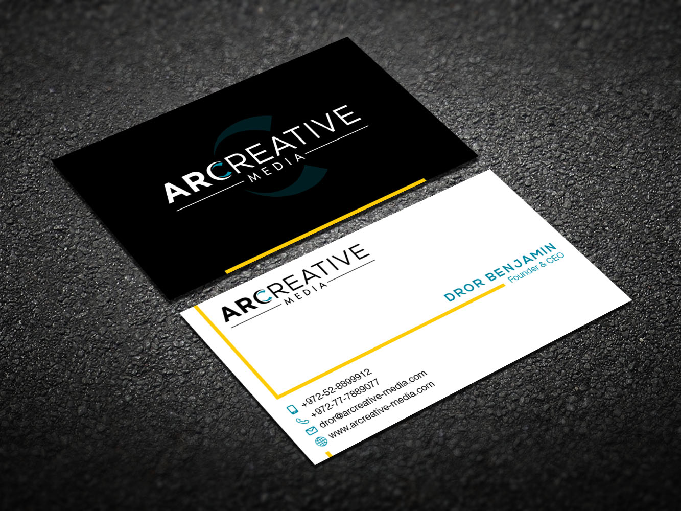 Serious, Modern, It Company Business Card Design for arcreative by ...