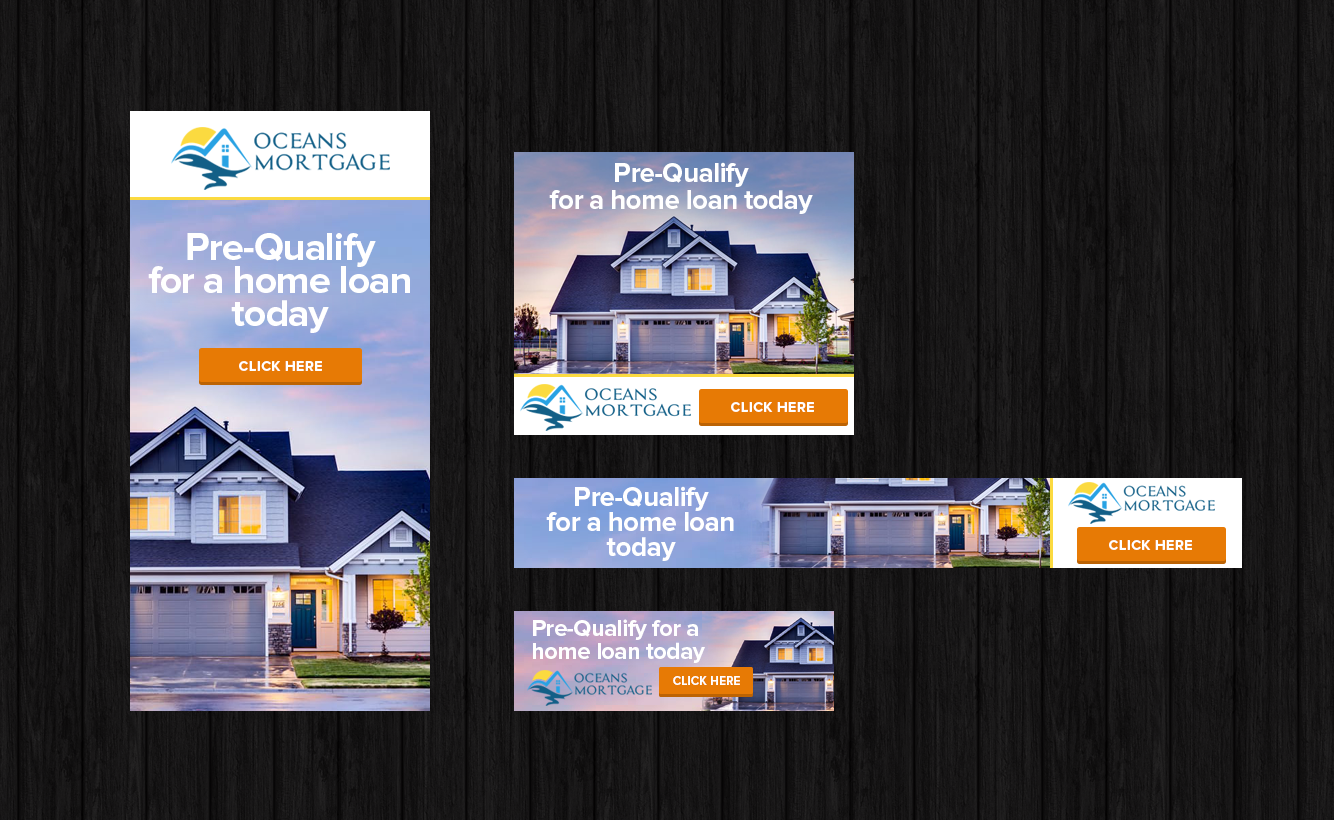 Modern Bold Mortgage Banner Ad Design For A Company By Laurra Design 13739392