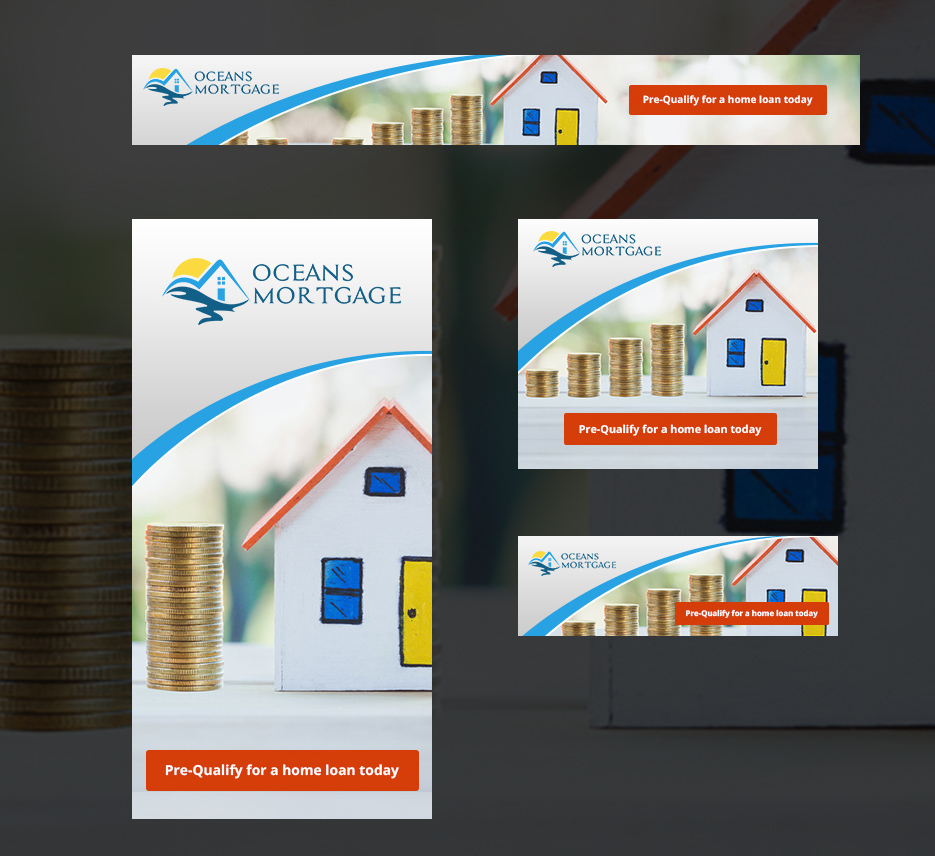 Modern Bold Mortgage Banner Ad Design For A Company By Designanddevelopment Design 13675731
