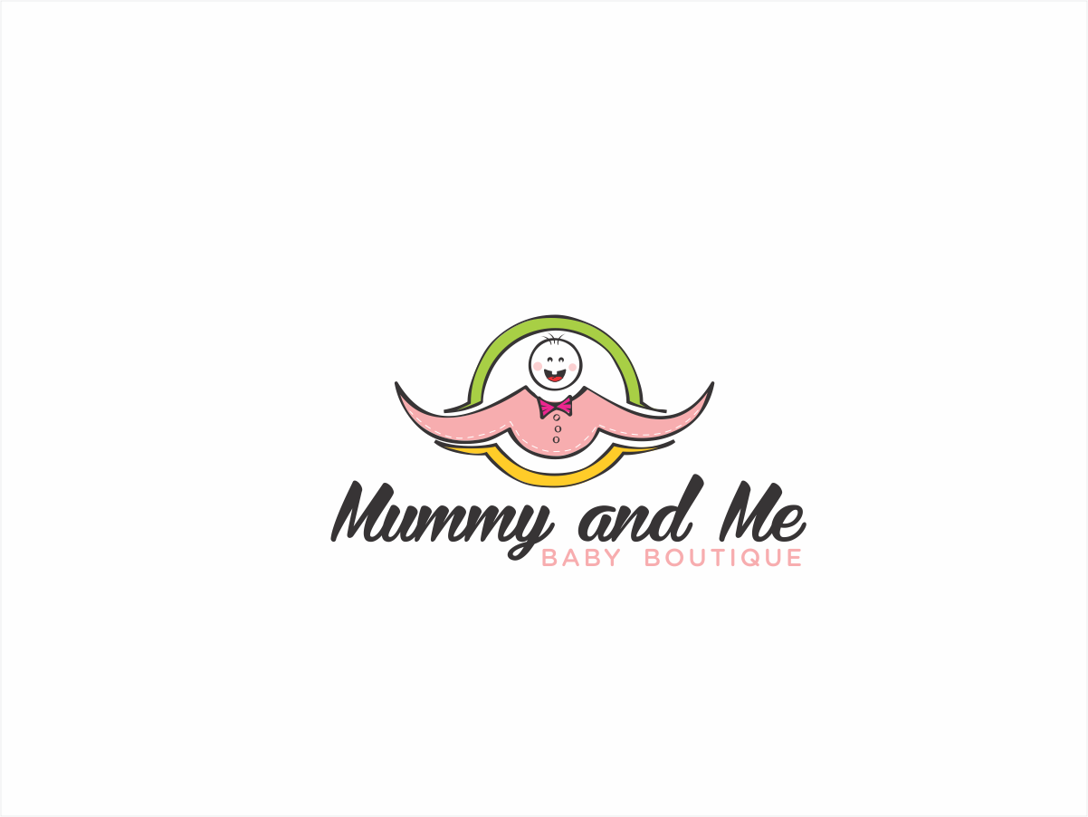 Playful, Bold, Boutique Logo Design for Mummy and Me Baby Boutique ...