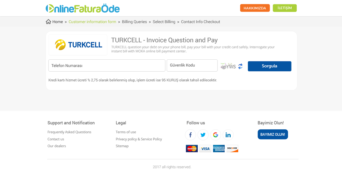 bold serious invoice web design for onlinefaturaode net by