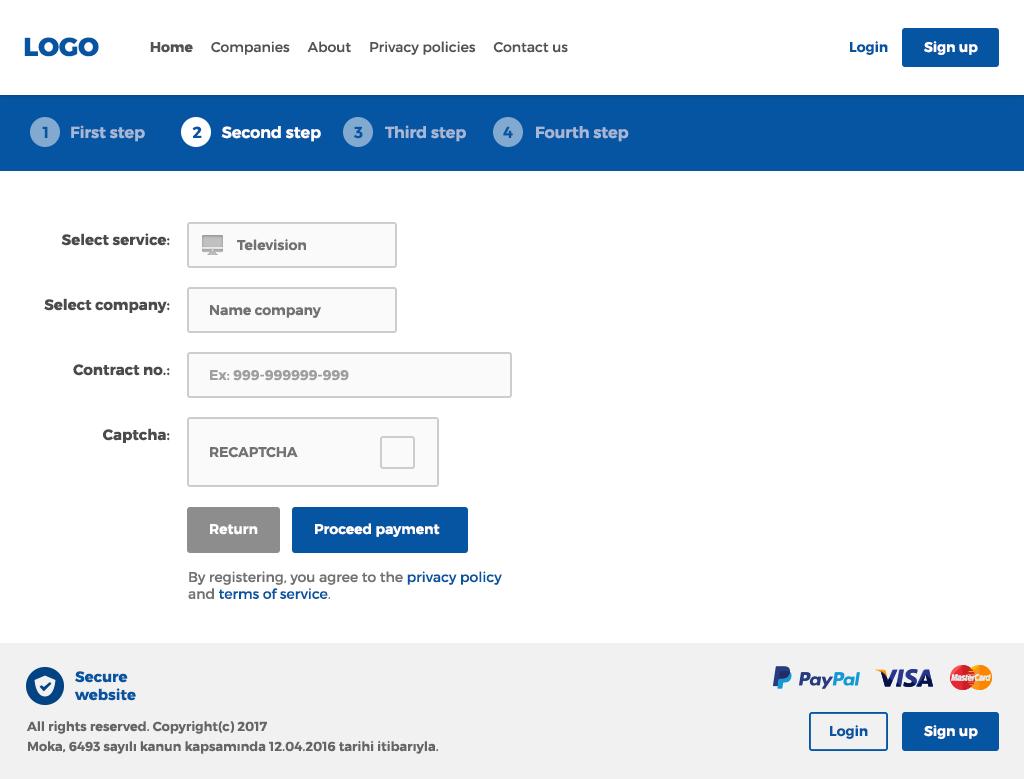 bold serious invoice web design for kacirmasak in turkey design 13717961