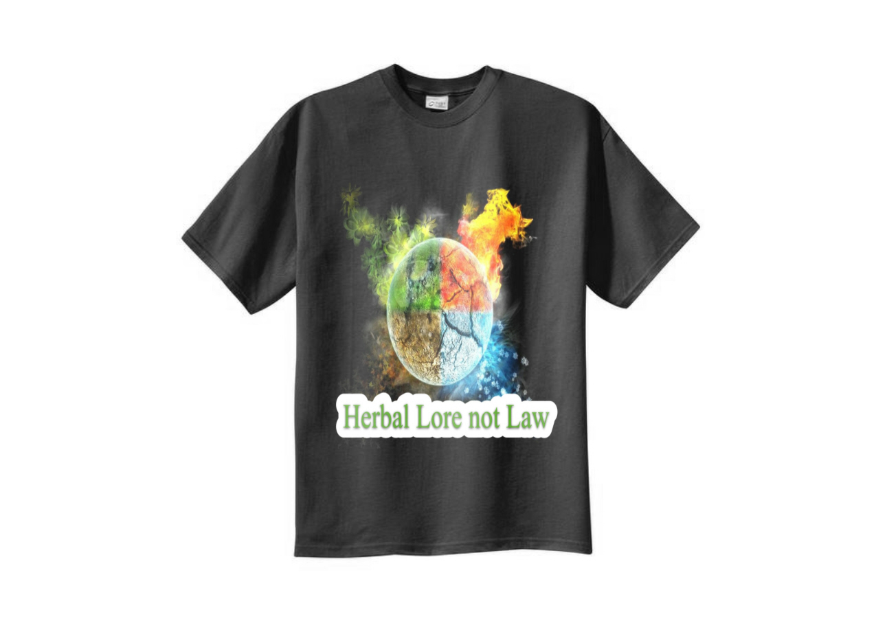 Modern colorful t shirt design for the happy herb company for T shirt advertising business