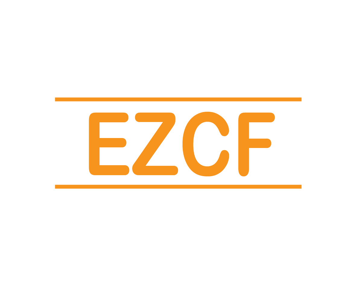 Modern upmarket training logo design for ezcf by art for Design consultancy internship