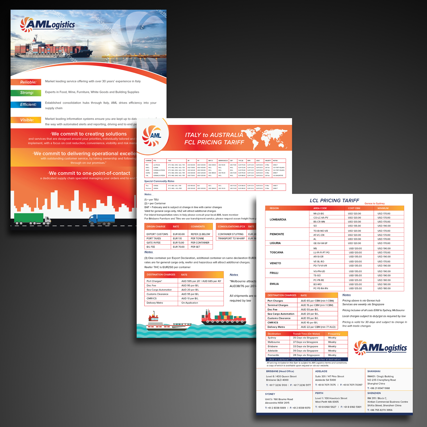 Professional, Upmarket, It Company Flyer Design for AM
