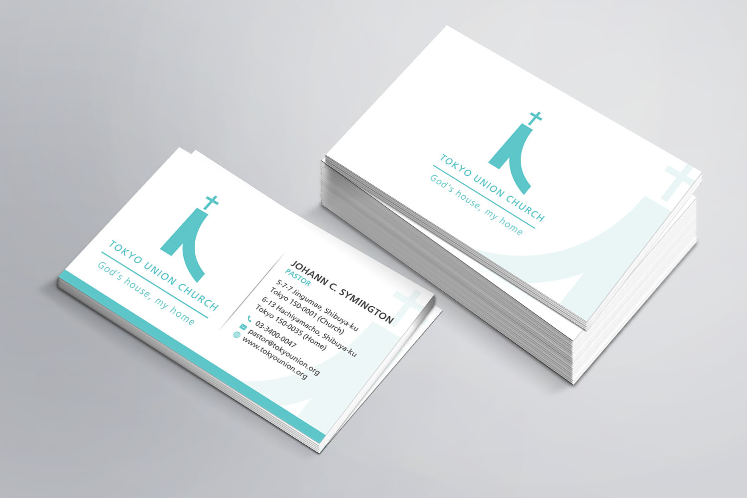 elegant modern business business card design for self