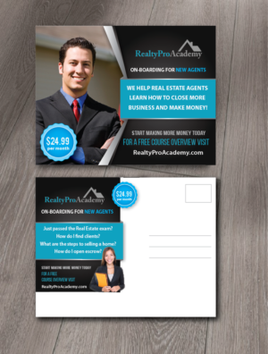 26 Serious Modern Real Estate Agent Postcard Designs for a Real ...