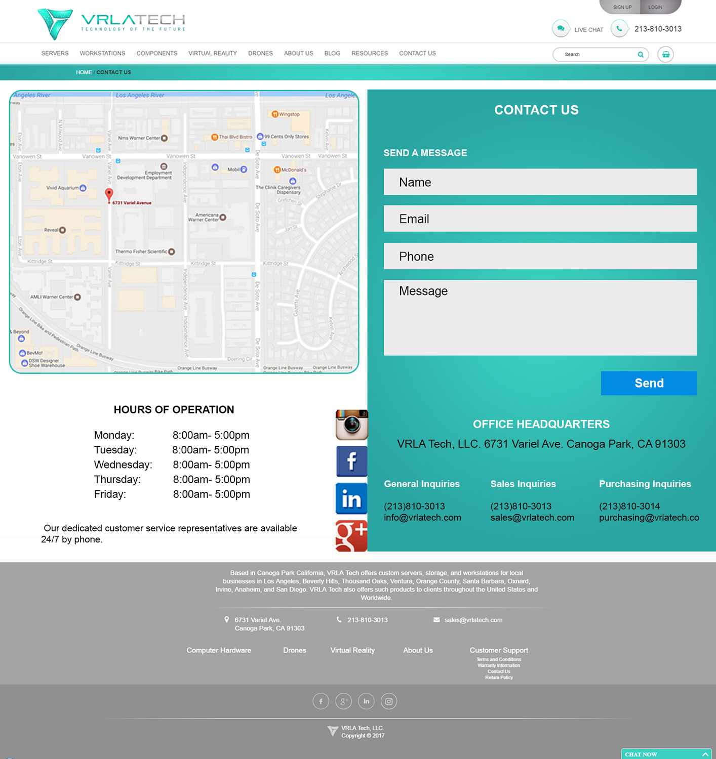 Professional, Modern, Information Technology Web Design for a ...